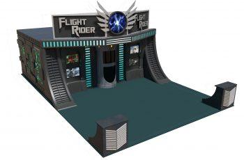 Flight Rider Facade